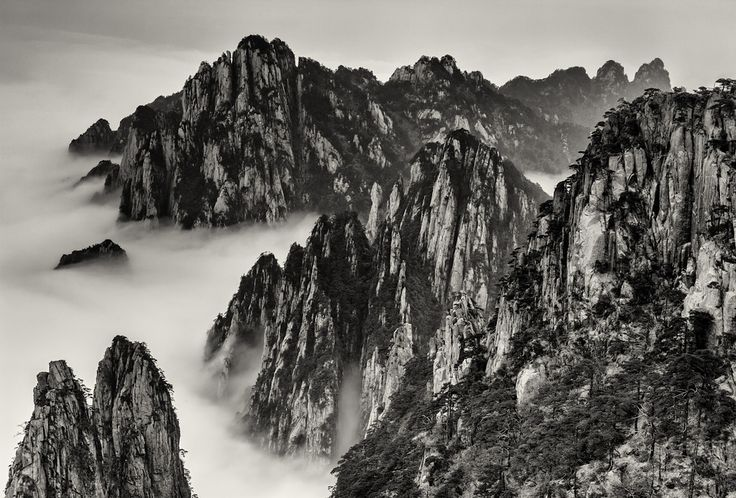 The Yellow Mountains of China