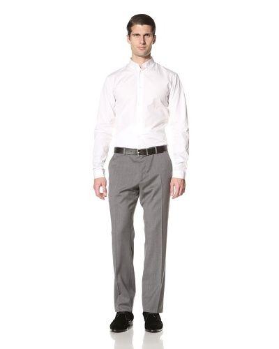 Dior-Männer Button-down-Kragen-Hemd