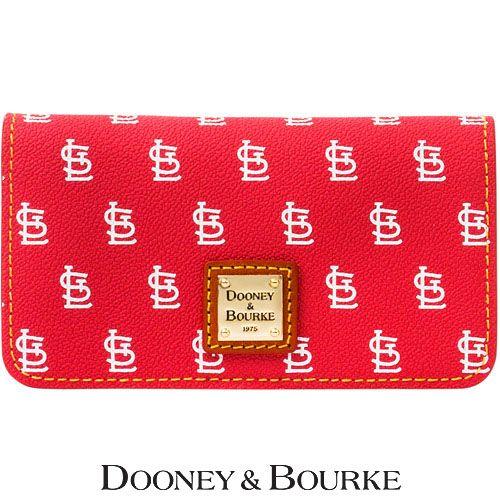 St. Louis Cardinals MLB Signature Large Slim Phone Wallet by Dooney & Bourke - MLB.com Shop