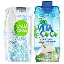 Kokoswasser 2er Probierset Vita Coco & indi coco