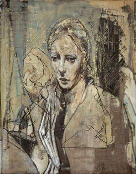 Annika, 65x51, olje, 2005