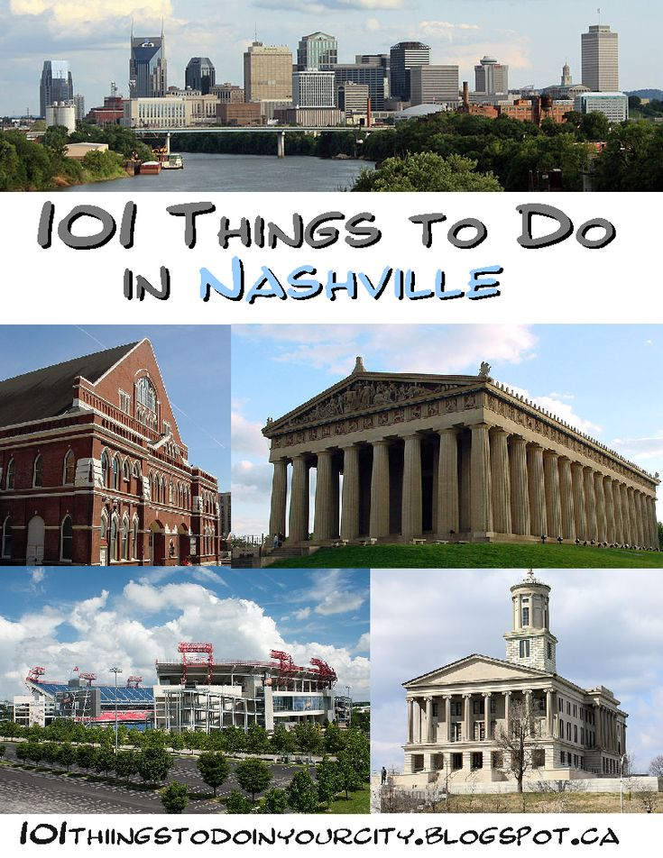 101 Things to do in Nashville
