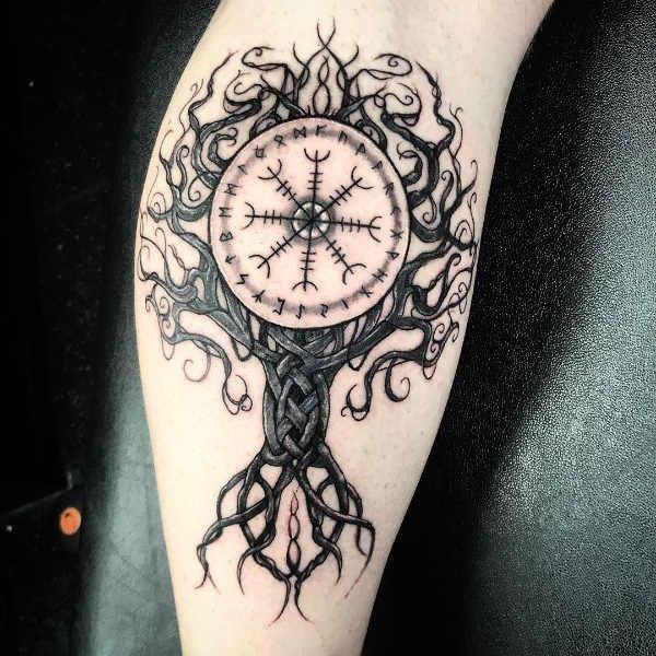 Verwonderlijk Viking tattoo: betekenis en 50x tattoo-inspiratie (met BE-85