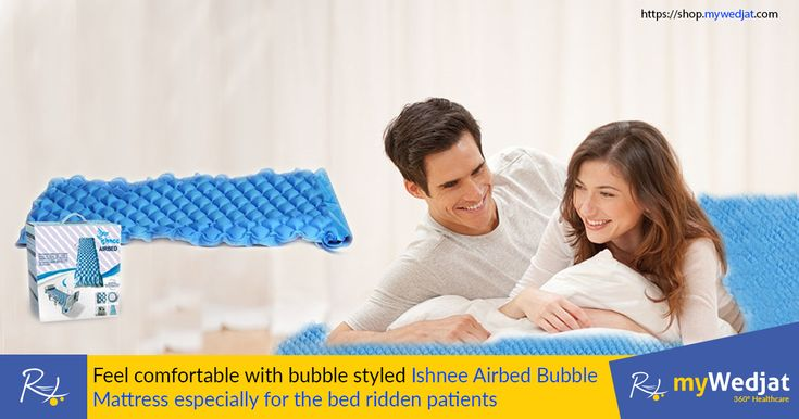 Feel comfortable with bubble styled Ishnee Airbed Bubble Mattress especially for the bedridden patients. #Airbed #myWedjat