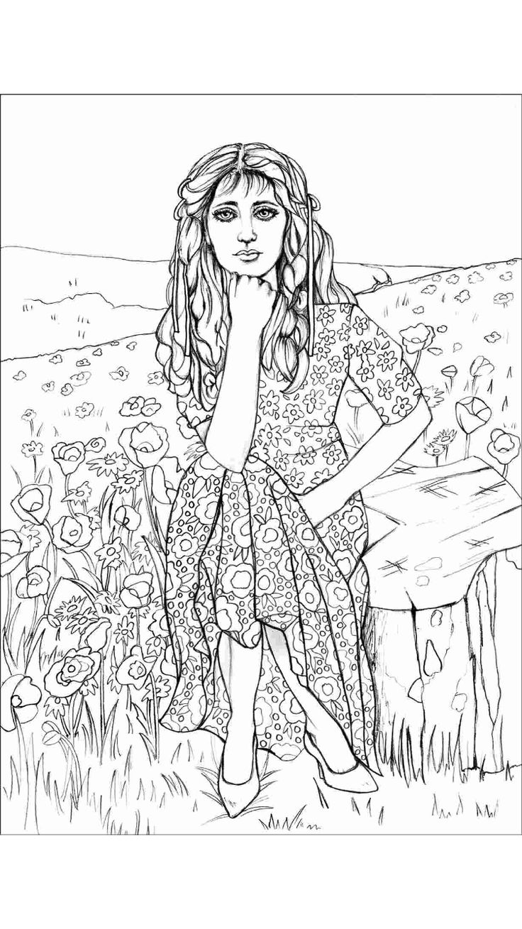 Coloring pages portraits - Great Grey Owl Coloring