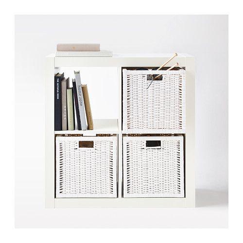 BRANÄS Cesto IKEA Perfeito para jornais, fotografias ou outras recordações. Com orifícios para ser fácil de levantar e transportar.