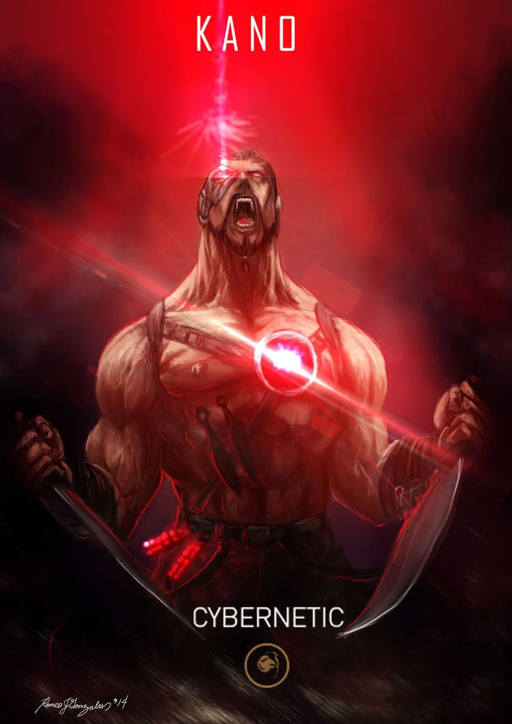 Mortal Kombat X Kano Cybernetic by Grapiqkad on DeviantArt