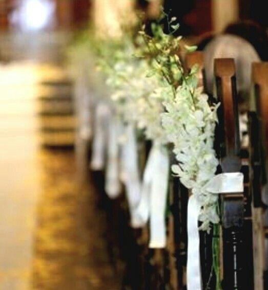 Wedding Isle Decorations