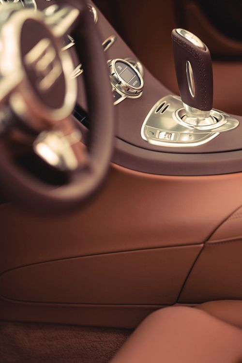♂ Masculine & elegance Bugatti Veyron Grand Sport car interior