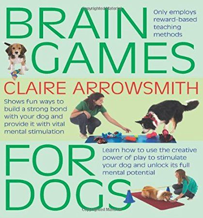 Brain Games For Dogs: Fun ways to build a strong bond with your dog and provide it with vital mental stimulation. It is an Amazon affiliate link.