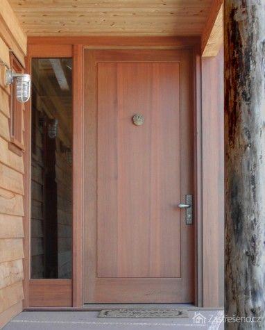 Masivní vchodové dveře, autor: bergersonwindow .com