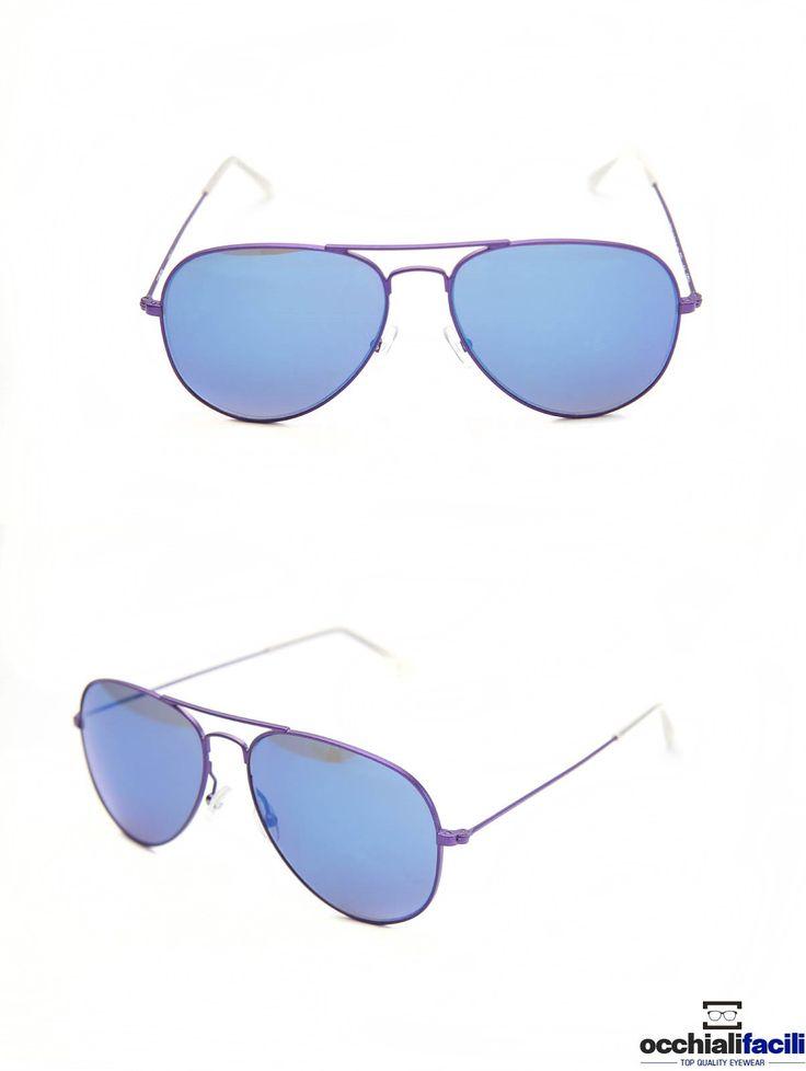 Occhiali da sole Mata Mod.1272 Col.LGO,in metallo con doppio ponte e terminali in celluloide, lente specchiata e forma a goccia. http://www.occhialifacili.com/prodotto/occhiali-da-sole-mata-1272-col-y1/