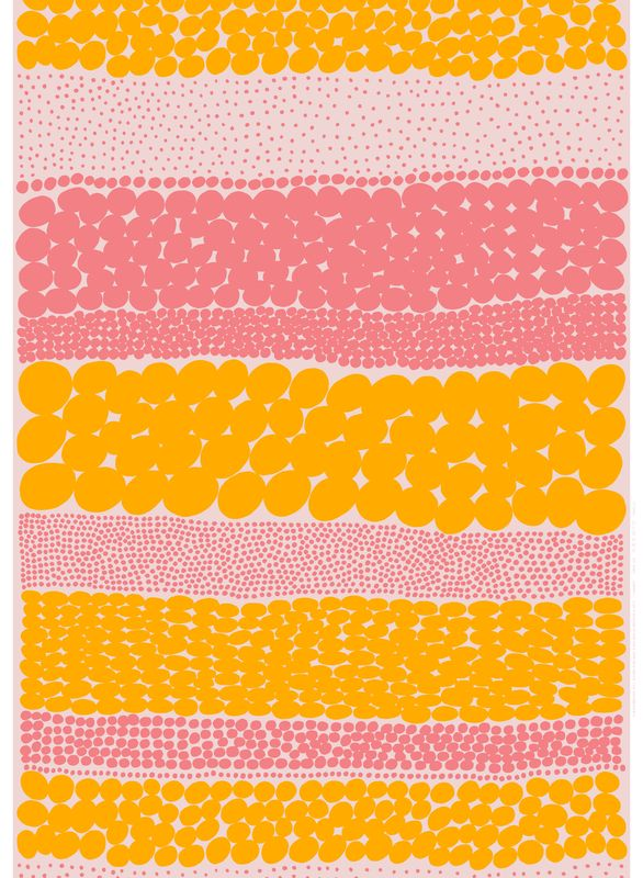 Jurmo, design Aino-Maija Metsola for Marimekko // Yellow and Pink // Waggo.com