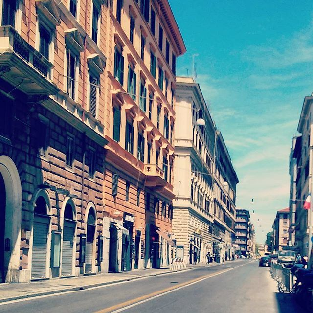Via Salaria, Rome #rome #roma #ρωμη #center #street #buildings #view #viasalaria #classic #romantic #palazzi