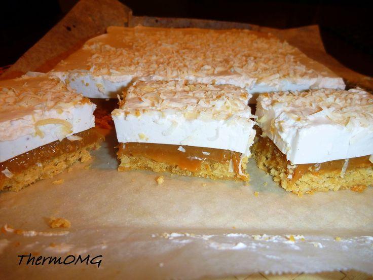 Caramel, Coconut and Marshmallow Slice