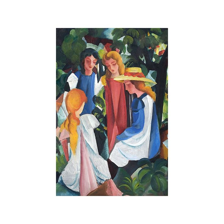 Reproduction on canvas of most famous painting by August Macke are now available in our store :) Beautiful art that will make you home look amazing.  http://turanshop.co.uk/233-august-macke  #art #canvas #paintings #augustmacke #printingsoncanvas