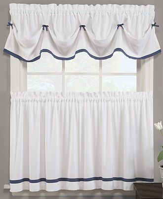 23 Best Blue And White Curtains Images On Pinterest