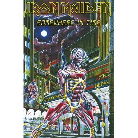 Iron Maiden: Somewhere In Time (poster textil)