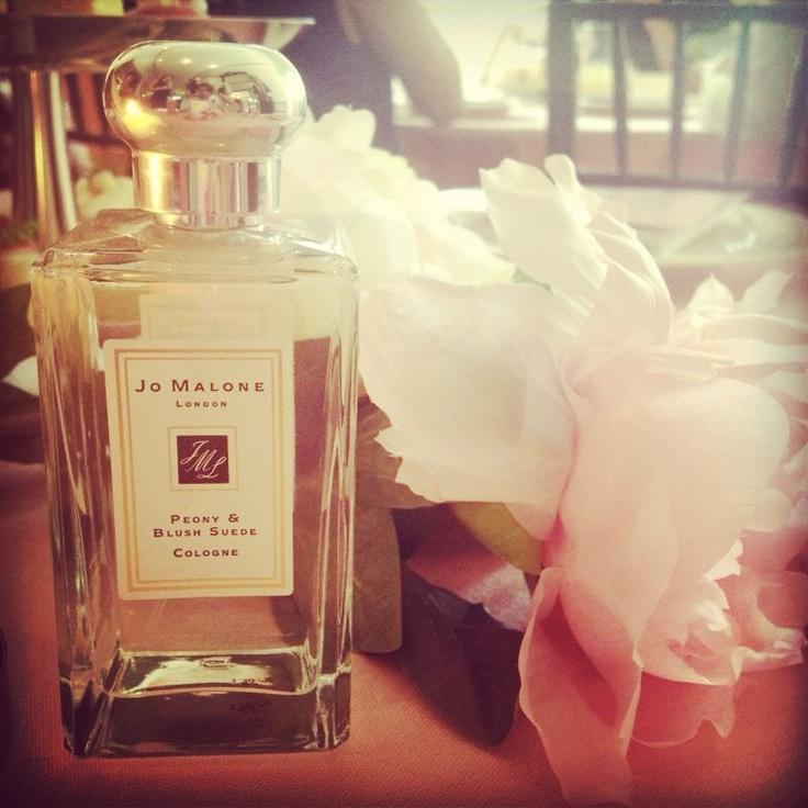 Jo Malone London's newest fragrance, Peony & Blush Suede