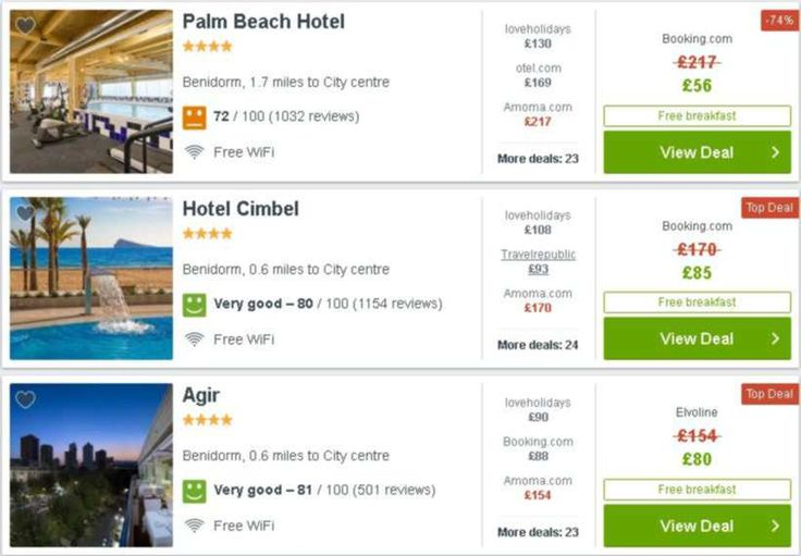 Cheapest Holidays On The Net For Sure