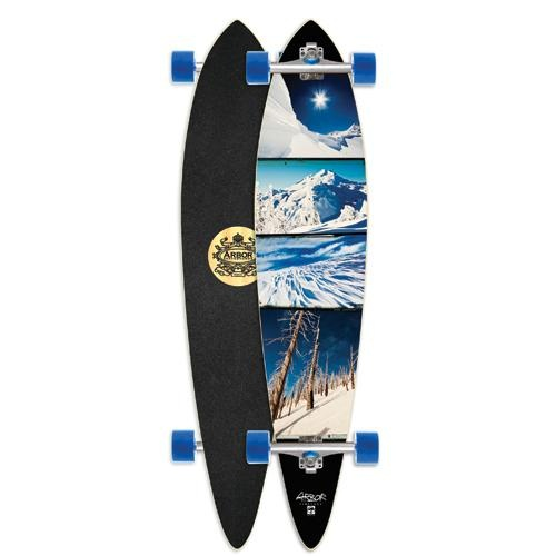 """Arbor Timeless Pin Grip 46"""" Complete Longboard Thinking about one... ;-)"""