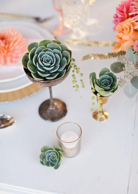 Modern, rustic wedding inspiration