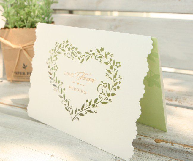 Wedding is the most cherished day in a couple's life. The event becomes even more special when family and friends join in to bless the couple and celebrate their everlasting bond. If you too want to make your wedding special, then start with wedding cards.