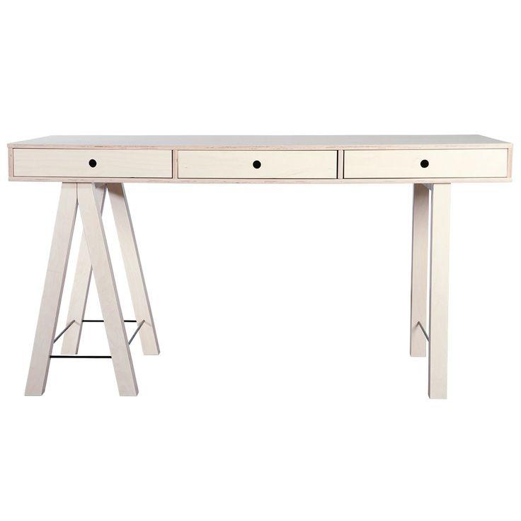 Mix skrivebord, bjørk i gruppen Møbler / Bord / Skrivebord hos ROOM21.no…