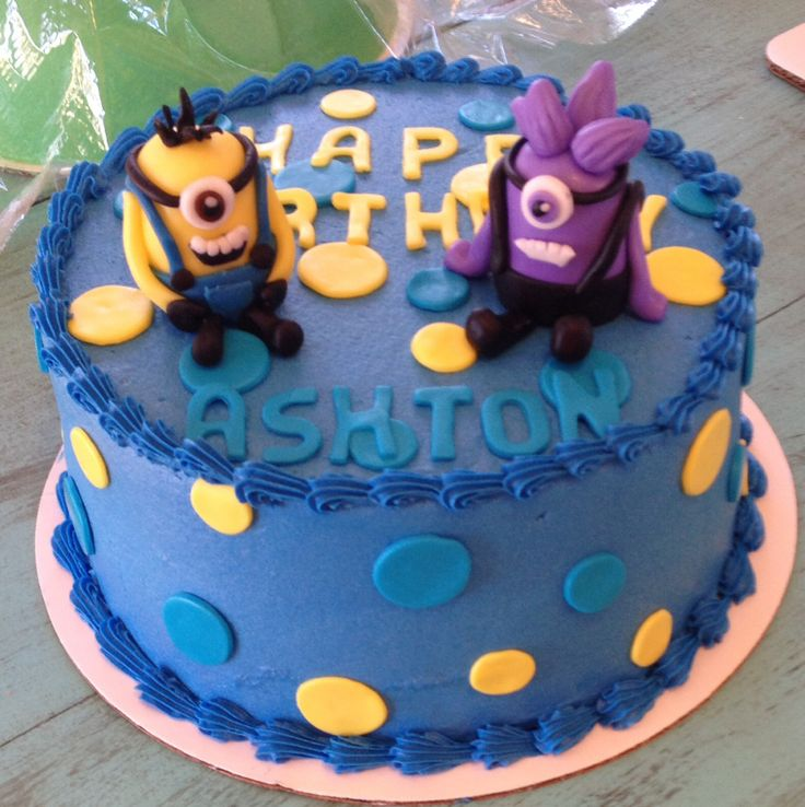 20 best Cake images on Pinterest Minions birthday cakes