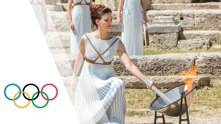 Highlights of the Olympic Flame Lighting Ceremony for the Rio 2016 Olymp...