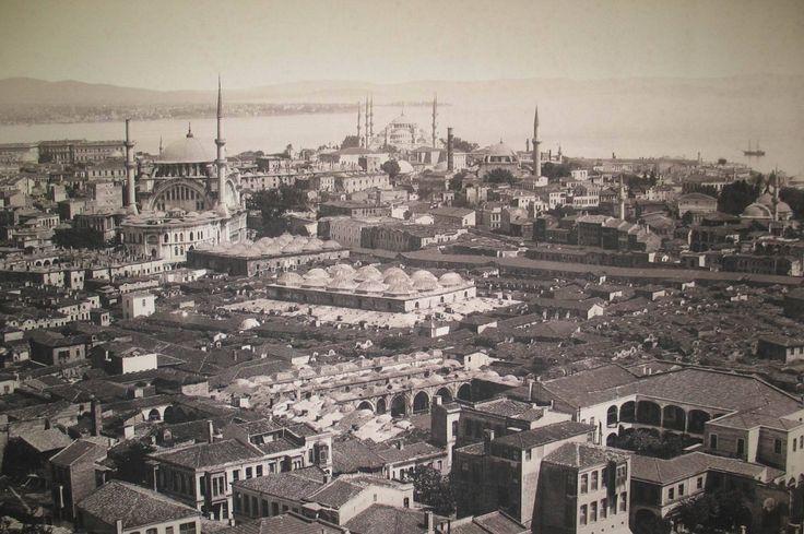 Beyazıt Kulesi'nden Nuruosmaniye be Sultanahmet Tarafı