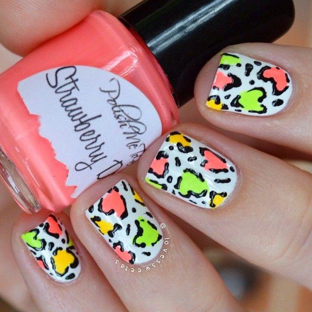 68 best nail art leopard nails images on pinterest nail art colorful leopard nail art nailart manicure nails naildesign manicureideas leopardnails prinsesfo Image collections