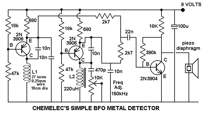 Simple Bfo Circuit Diagramas Electricos Pinterest