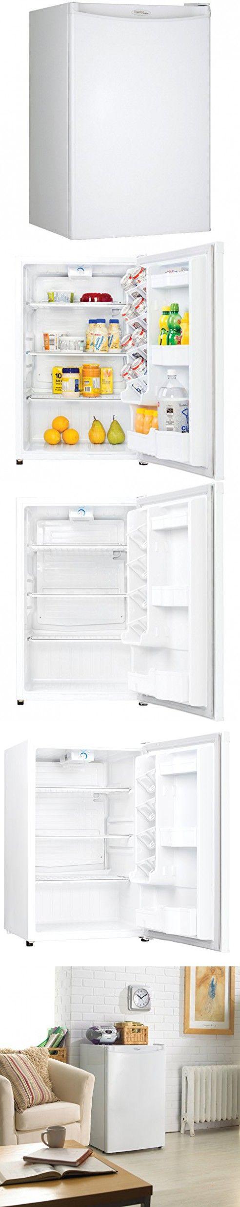 Danby DAR044A4WDD Compact All Refrigerator, 4.4 Cubic Feet, White