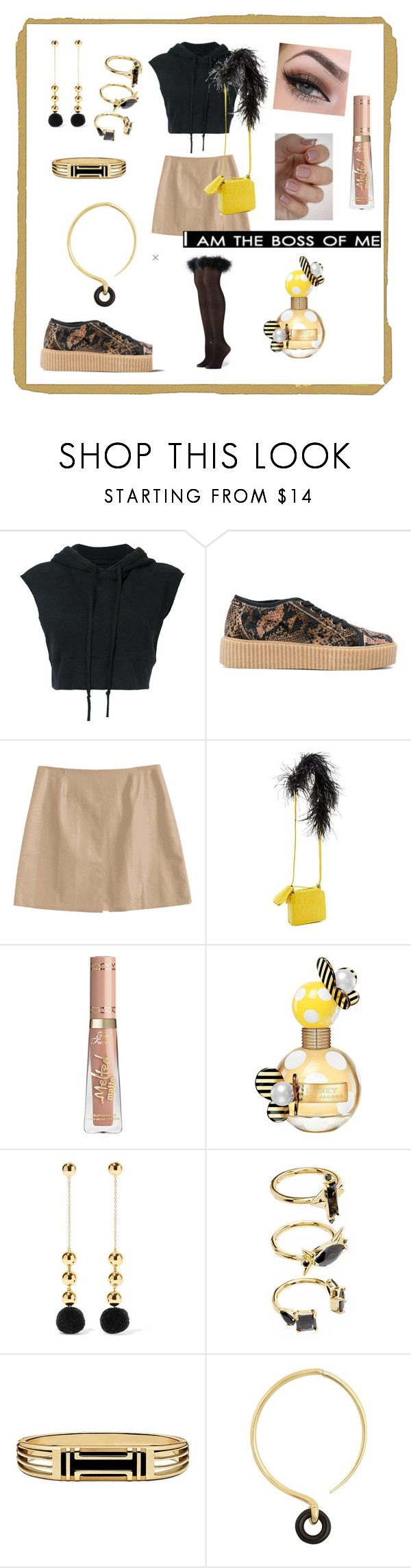 """Trending Trainers"" by gigiglow ❤ liked on Polyvore featuring Greg Lauren, MM6 Maison Margiela, Marques'Almeida, Marc Jacobs, Noir Jewelry, Tory Burch and Charlotte Chesnais"