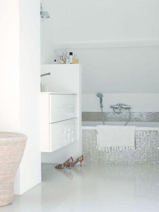 25 beste idee n over italiaanse badkamer op pinterest toscane decoratie - Italiaanse douche mosai dat ...