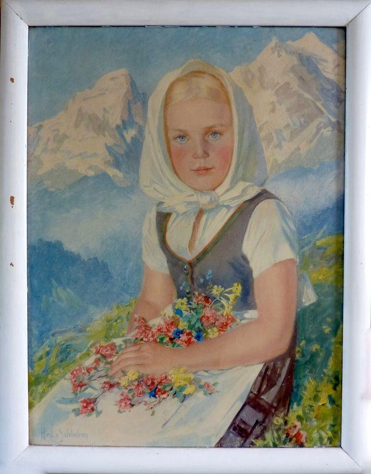 Een onthecht folkloremeisje Hedwig von Schlieben