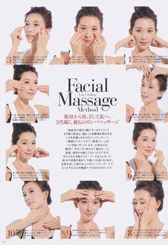 En la revista Grazia de Japón, la modelo taiwanesa Lin Chi-ling detalla cómo lo hace ella.
