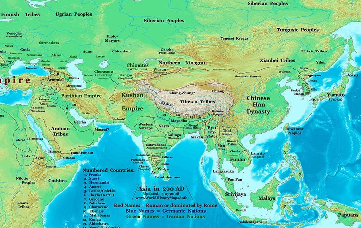 The Rise and Fall of the Han Dynasty Ancient history and History - best of world history maps thomas lessman