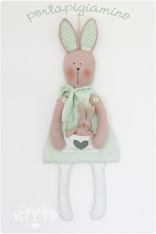 Countrykitty: Mummy bunny and baby bunny