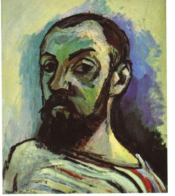 2-Henri Matisse, Autoportrait, 1906, huile sur toile, 55x46, Statens Museum for Kunst