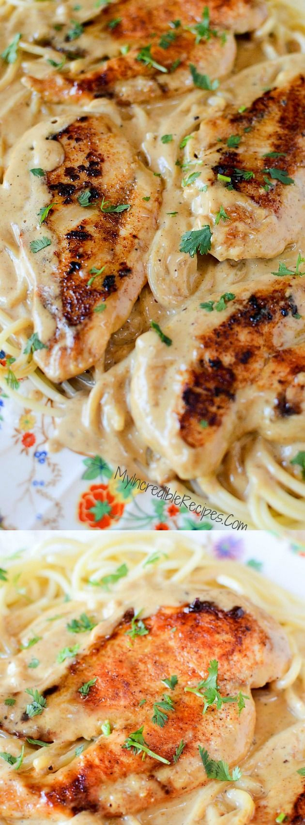 This Chicken Lazone dinner recipe from My Incredible Recipes is sure to become your new family favorite go-to recipe! It seriously has the most delicious pan fried chicken with butter and seasonings that create a pan sauce that is just incredible!