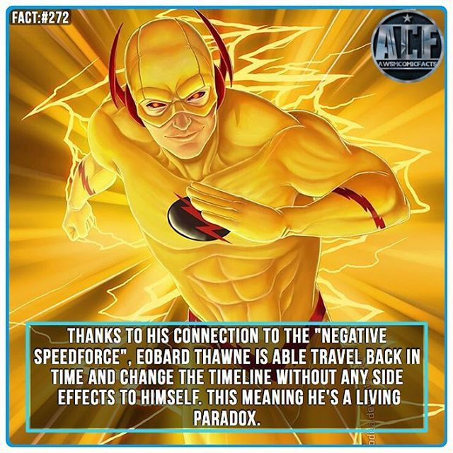 - I love the concept of the Negative Speed-force. • • • - QOTD?!: Would you pick The Speed Force of the Negative Once?!