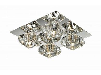 Plafon Rubic 4 - Nowoczesne lampy AZzardo - oświetlenie led - lampy sufitowe