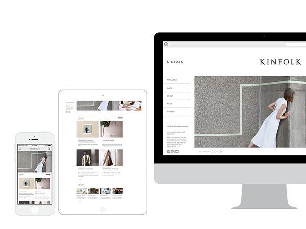 Kinfolk - Design Concept - #001 Check me on dribbble to see another shot https://dribbble.com/nugrahajatiutama #design #webdesign #UI/UX