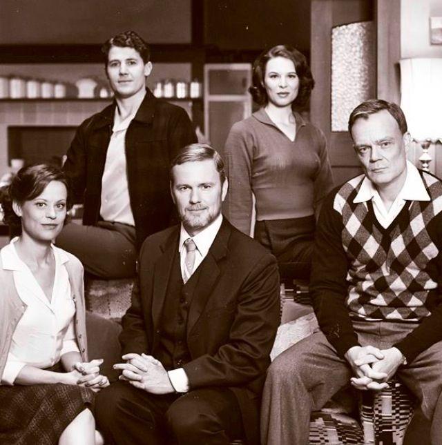 The Doctor Blake Mysteries: Jean Beazley, Dr. Lucien Blake, Chief Supt Mathew Lawson, Charlie Davis & Mattie O'Brien