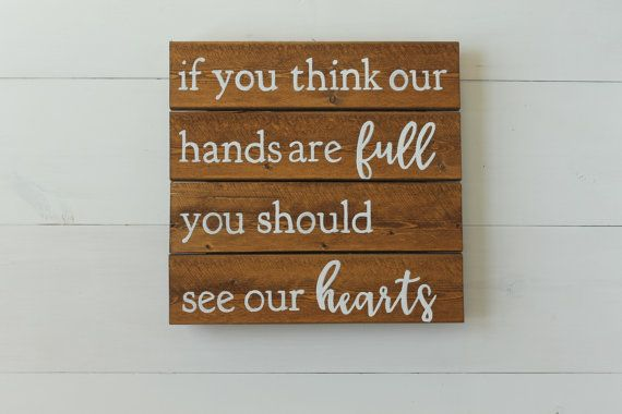 If you think our hands are full you should by HeartwoodCreativeCo