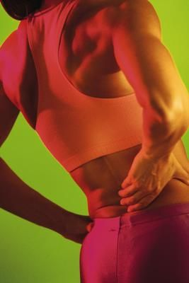 back fat exercises: Fat Exerci, Lower Back Exercise, Abs Workout, Work Desk, Sore Muscle, From Exercise, Back Pain, Back Fat, Interval Training