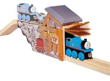 Thomas u0026 Friends Wooden Railway Set - Quarry Mine Tunnel - Learning Curve - Toys  R  Us  sc 1 st  Pinterest & 17 best Train Tables - Accessories images on Pinterest | Thomas and ...