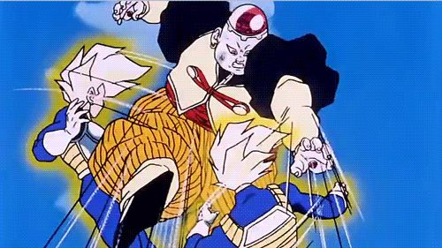 Image result for Vegeta vs Android 19